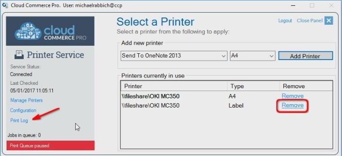 Continue Adding Printers