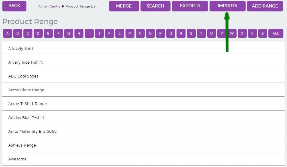 5. Product Range - Imports