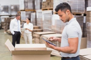 Is this man using the best inventory management software?