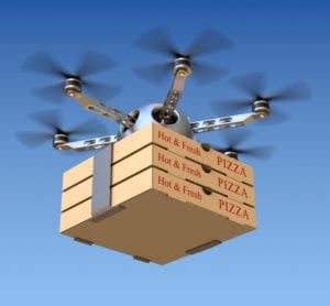 Uber applies for delivery drone permissions