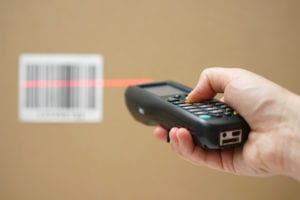 Adopting barcode stock management allows for new stock to be easily scanned and booked in.