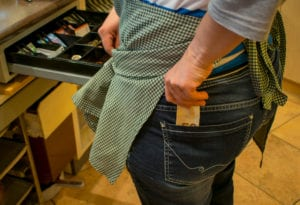 Employee theft isn't always money from the till. Sometimes retail stock disappears.