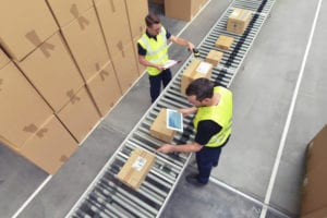 Warehouse employees and businesses boy benefit from finding ways to improve your shipping process