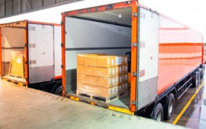 Loading delivery trucks without pallet shipping management increases errors and reduces accountability.