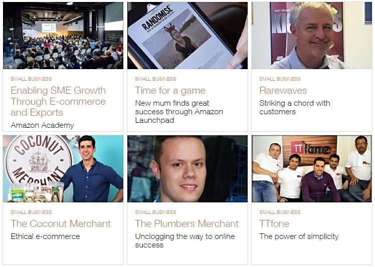 amazon business success