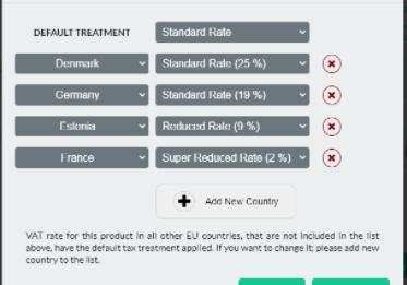 VAT Treatment